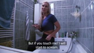 Britney Spears Sextape wie sie im Badezimmer gefickt wird